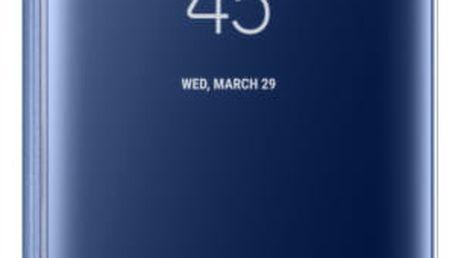 Pouzdro na mobil flipové Samsung Clear View pro Galaxy S8+ (EF-ZG955CLEGWW) modré