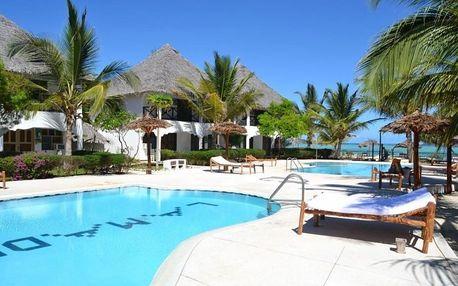 Tanzánie, Zanzibar, letecky na 16 dní snídaně