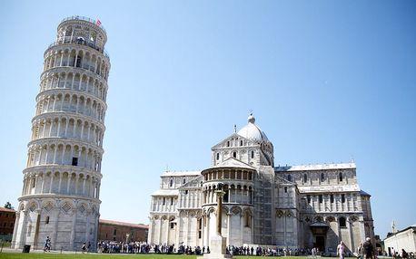 Perly Toskánska (Florencie a Pisa), Napoleonova Elba s koupáním v moři