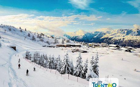 Hotel Augustus - 5denní lyžařský balíček se skipasem a dopravou v ceně, Monte Bondone, Itálie, autobusem, polopenze