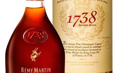 Remy Martin 1738 Accord Royal GPK 0,7l 40%