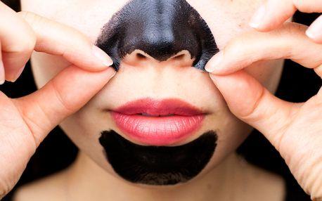 Korejská černá pleťová maska PILATEN - 10 ks pro perfektní pleť