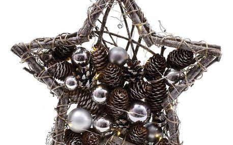 Svítící dekorativní hvězda Ego Dekor Winter Time - doprava zdarma!