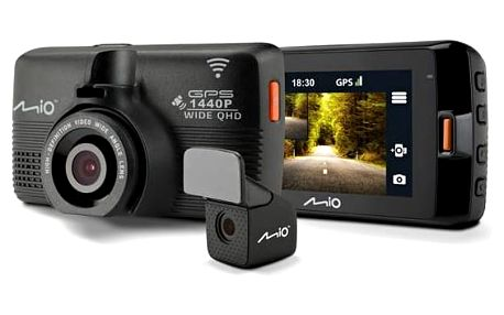 Autokamera Mio MiVue 752 WiFi DUAL (5415N5480013) černá + Doprava zdarma