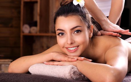 Tibetská nebo klasická masáž a 30 minut v sauně