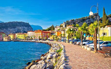 2denní výlet do Itálie pro 1 os.: jezero Lago di Garda a Verona