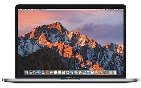 "Notebook Apple MacBook Pro 15"" s Touch Bar 256 GB - Space Gray (MPTR2CZ/A) + Doprava zdarma"
