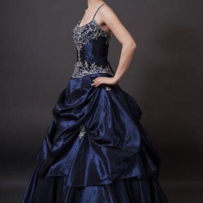 Sleva 1100 Kč na zapůjčení plesových nebo svatebních šatů