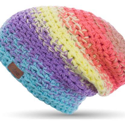 Ručně háčkovaná čepice DOKE Candy - doprava zdarma!