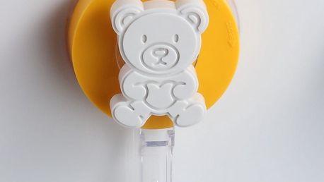 Žlutý háček bez nutnosti vrtání ZOSO Bear - doprava zdarma!