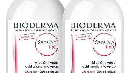 BIODERMA Sensibio dárkové balení H2O 250 ml + 250 ml