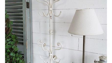 Bílý nástěnný věšák Orchidea Milano Vintage - doprava zdarma!