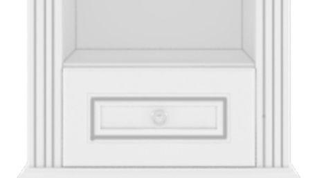Noční stolek WHITE