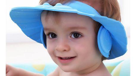 Koupací kšilt s klapkami na uši