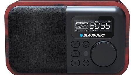 Radiopřijímač Blaupunkt HR10BT (HR10BT) imitace dřeva