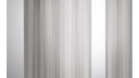 Albani Závěs David šedá, 140 x 245 cm, sada 2 ks