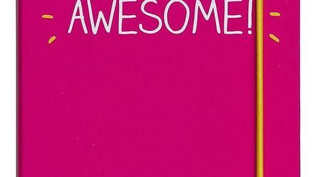 Notes A6 Happy Jackson Little Book of Awesome - doprava zdarma!