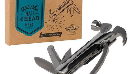 Multifunkční nástroj s kladivem Gentlemen's Hardware Hammer Tool - doprava zdarma!