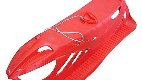 Sáně Acra Firecom plastové červené