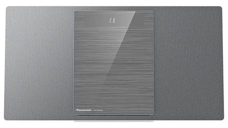 Mikrosystém Panasonic SC-HC402EG-S (SC-HC402EG-S) stříbrná + DOPRAVA ZDARMA