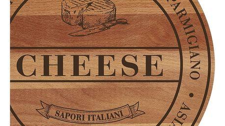 Prkénko z bukového dřeva Bisetti Broad Cheese,30cm - doprava zdarma!