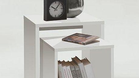 Přístavný stolek - set 2 ks DUO