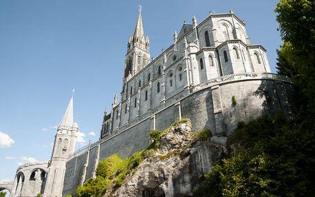 4denní zájezd s ubytováním za krásami města Lurdy ve Francii
