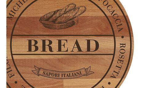 Prkénko z bukového dřeva Bisetti Broad Bread,30cm - doprava zdarma!