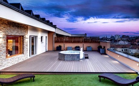 2denní víkendový pobyt pro 2–3 osoby s polopenzí v hotelu Avanti**** v Brně
