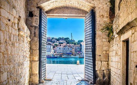 Hotel Villa Fontana***, 3* hotel v samém srdci historického Trogiru, snídaně v ceně