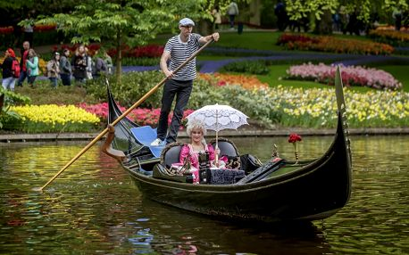 Rozkvetlé Holandsko, Amsterdam a park Keukenhof s tulipány: na 1 noc včetně korza