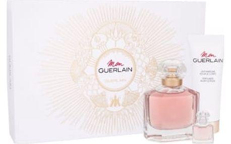 Guerlain Mon Guerlain dárková kazeta pro ženy parfémovaná voda 100 ml + parfémovaná voda 5 ml + tělové mléko 75 ml