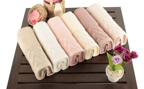 Saheser Sada šesti ručníků 30 x 50 cm 321SHS1102