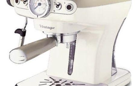 Espresso Ariete Vintage ART 1389/13 krémové + DOPRAVA ZDARMA