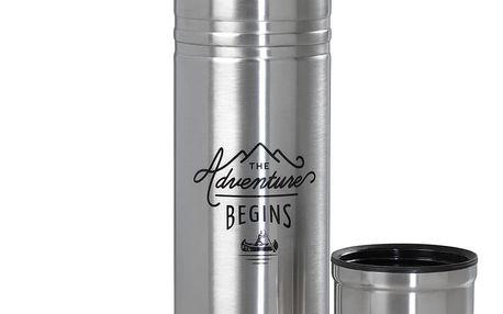 Nerezová termoska Gentlemen's Hardware Flask, 500 ml - doprava zdarma!
