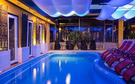 Szent Orbán Erdei Wellness Hotel****, Kanadský srub uprostřed lesů a k tomu wellness a polopenze
