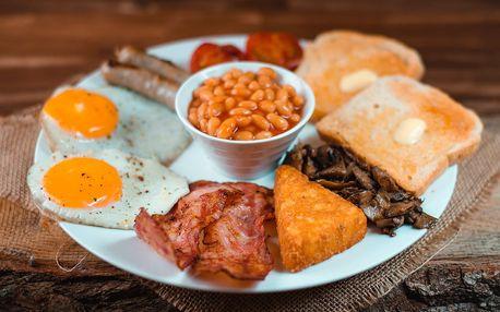 Vydatná snídaně: anglická, vločky nebo vajíčka