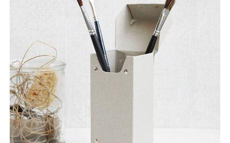 MONOGRAPH Papírová krabička Memo, šedá barva, papír