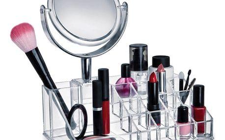 Organizér na kosmetiku se zrcátkem Domopak Make Up - doprava zdarma!