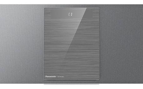 Mikrosystém Panasonic SC-HC402EG-S (SC-HC402EG-S) stříbrná Sluchátka Panasonic RP-HF100ME-K černá + DOPRAVA ZDARMA