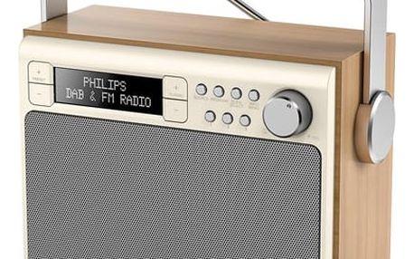 Radiopřijímač s DAB Philips AE5020