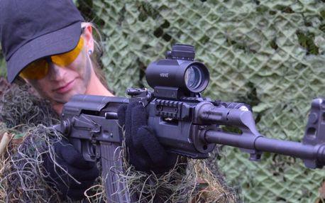 Akční střelecké balíčky dle výběru: až 12 zbraní