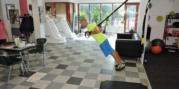 TRX cvičení - funkční trénink s vahou vlastního těla v délce 55 minut na Praze 102