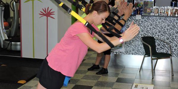 TRX cvičení - funkční trénink s vahou vlastního těla v délce 55 minut na Praze 103