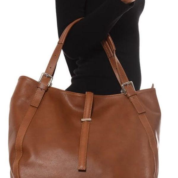 Koňakově hnědá kožená kabelka Isabella Rhea Eva - doprava zdarma! Hlídat  podobné. Vyprodáno. 1 ... cde26de10ff