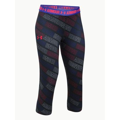 Legíny Under Armour Printed Capri Barevná