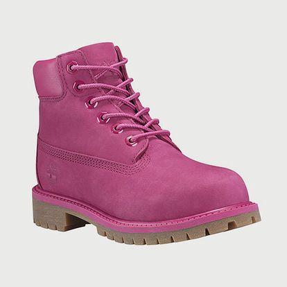 Boty Timberland 6'' Premium waterprof boot Růžová