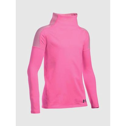 Tričko Under Armour Coldgear Cozy Longsleeve Růžová