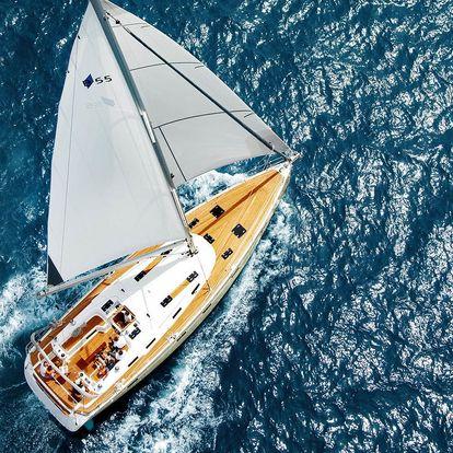 8denní plavba plachetnicí pro dospělé i dítě