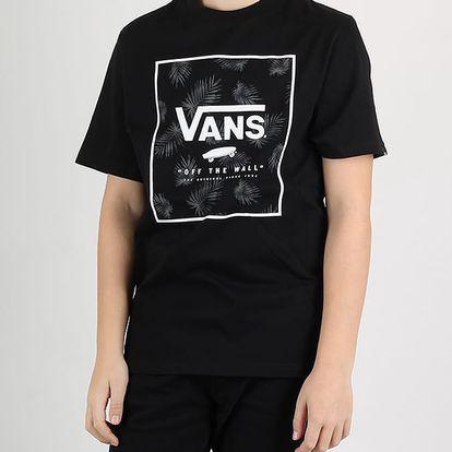 Tričko Vans BY PRINT BOX BOYS BLACK-TONAL PAL Černá
